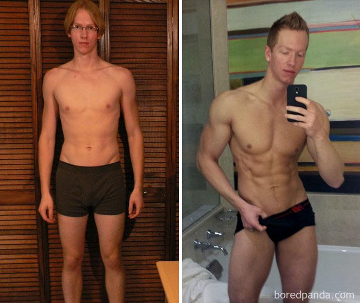 20 потрясающих превращений: До и после занятий фитнесом