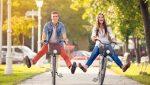 пара велосипеды