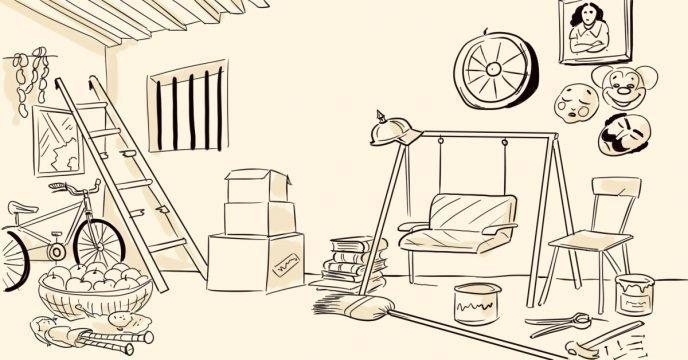 Тест: Посмотрите на старый подвал и выберите предмет